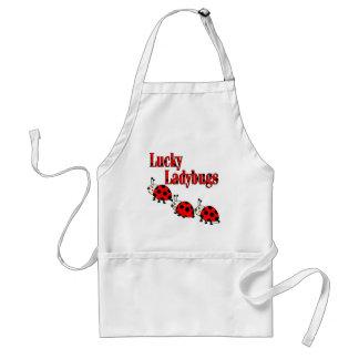 Lucky Little Ladybugs Standard Apron