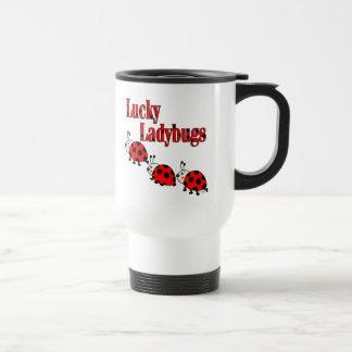 Lucky Little Ladybugs Travel Mug