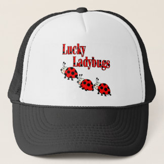 Lucky Little Ladybugs Trucker Hat