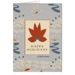 Lucky Lotus Peace card Card