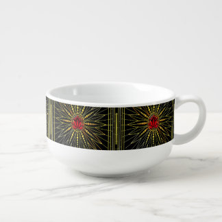 Lucky Lotus Soup Mug