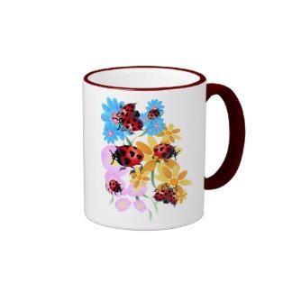 Lucky-Love Ladybugs Mugs