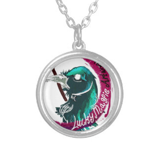 Lucky Magpie designs Round Pendant Necklace