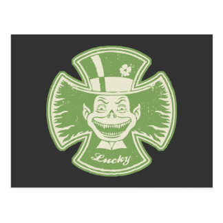 Lucky Maltese Leprechaun Postcard