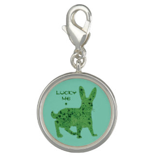 Lucky Me Hare | charm