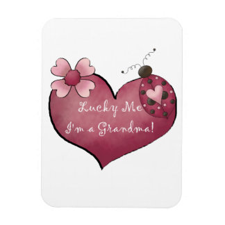 Lucky Me I'm a Grandma  Gifts Magnet