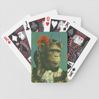 Lucky Monkey Demon Playing Cards