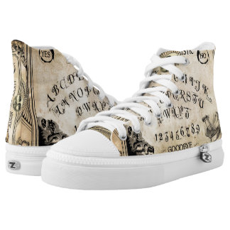 Lucky Mytic Oracle Board High Top Shoes Printed Shoes