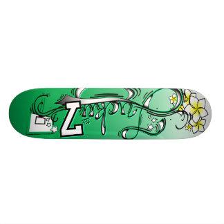 Lucky No. 7 Green Power 21.3 Cm Mini Skateboard Deck