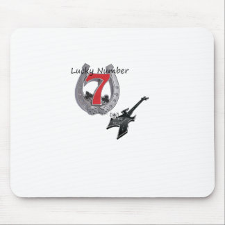 Lucky NUMBER 7 Mouse Pad