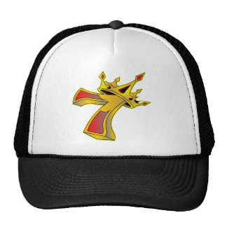 Lucky Number 7 with Crown Tattoo Cap