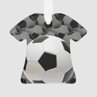 Lucky Number Soccer Football Ornament
