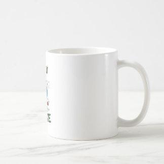 Lucky On Lake Basic White Mug