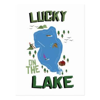 Lucky On Lake Postcard