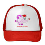 Lucky Pinkie Merry Christmas Hat