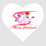 Lucky Pinkie Merry Christmas Sticker