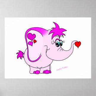 Lucky Pinkie Print