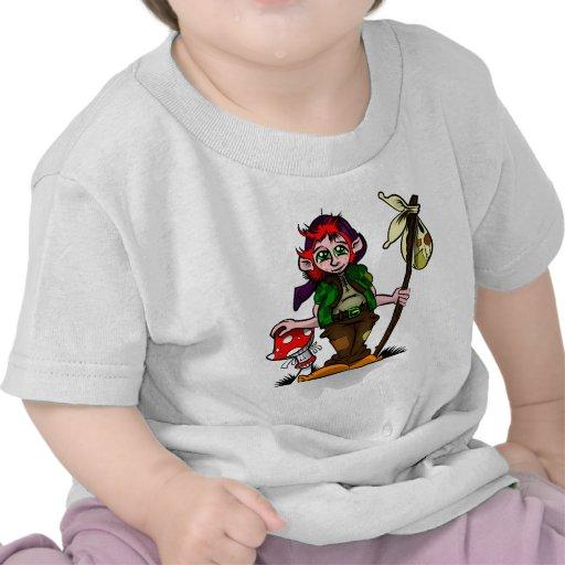 Lucky Pixie Tee Shirts