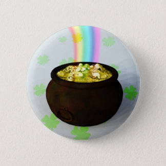 Lucky Pot of Gold Button