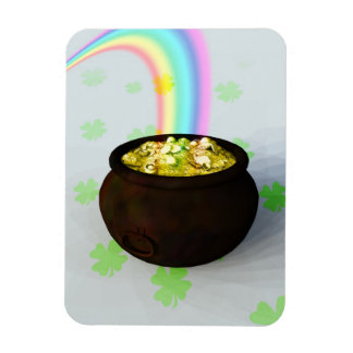 Lucky Pot of Gold Magnet