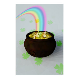 Lucky Pot of Gold Poster