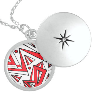 Lucky Quick-Witted Beneficial Inventive Round Locket Necklace