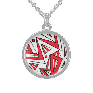Lucky Quick-Witted Beneficial Inventive Round Pendant Necklace