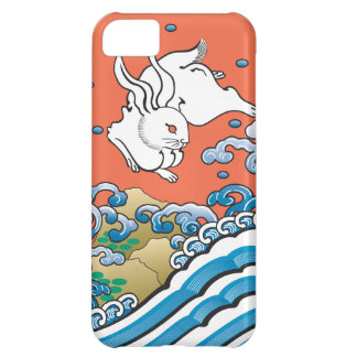 Lucky Rabbit Red iPhone 5C Case