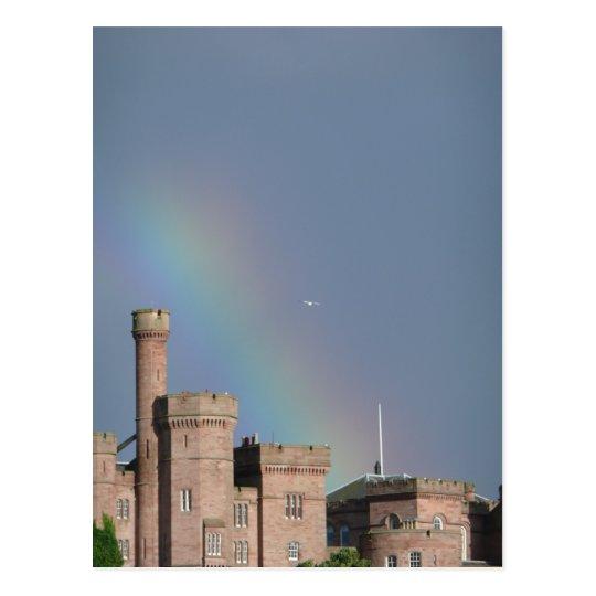 Lucky Rainbow Postcard