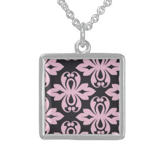 Lucky Respected Light Wonderful Square Pendant Necklace