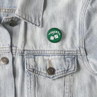 Lucky Seven by Aleta 3 Cm Round Badge