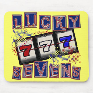 Lucky Sevens Mouse Pad