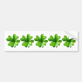 Lucky Shamrock Keepsake Bumper Sticker