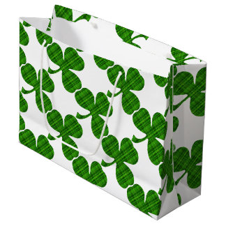 Lucky Shamrock Large Gift Bag
