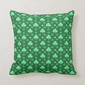 Lucky Shamrock Pattern Cushion