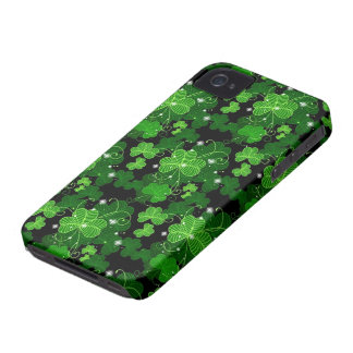 Lucky Shamrocks iPhone 4 Case