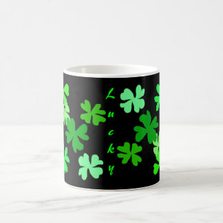Lucky Shamrocks Magic Mug