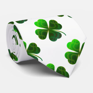 Lucky Shamrocks Pattern | Cool Gifts Tie
