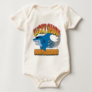 Lucky Shark Surfboards Baby Bodysuit