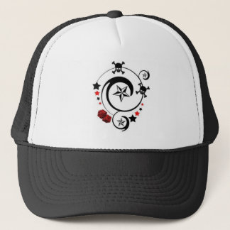 Lucky Skull Trucker Hat