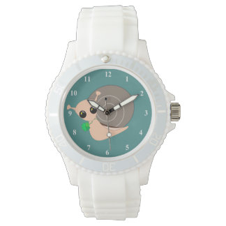 Lucky Snail 1 - Women's Sporty White Silicon Watch