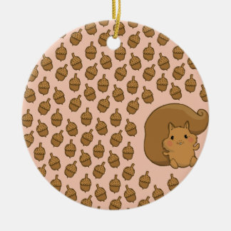 Lucky Squirrel Christmas Ornaments
