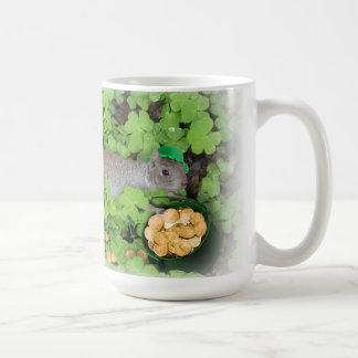 Lucky Squirrel  mug Coffee Mug