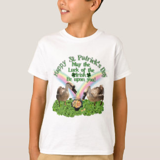 Lucky St. Patrick's Day Geese T-Shirt