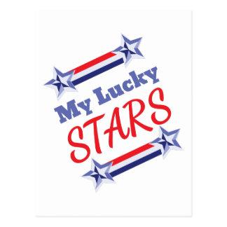Lucky Stars Postcard