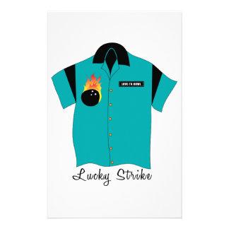 Lucky Strike Stationery Design