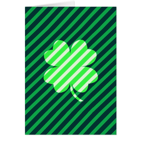Lucky Stripes Card
