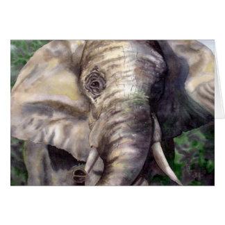 Lucky the Elephant Card