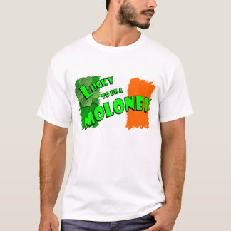 Lucky to be a Moloney Irish Shamrock T-Shirt
