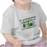 Lucky To Be Irish Infant T-Shirt